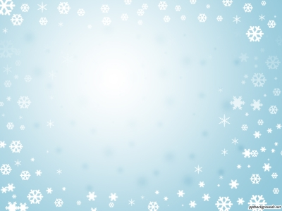 Christmas Winter Blue Frame Powerpoint Backgrounds Ppt Background Car