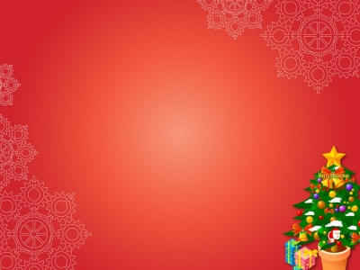 Christmas Xmas Gifts On Red Download PowerPoint Backgrounds  PPT