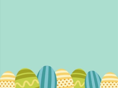 Simple Easter Background