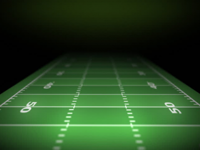 Football Field Background  HD Stock Video Clip