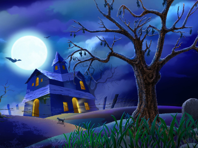 Free Halloween PowerPoint Background Download  PowerPoint E Learning