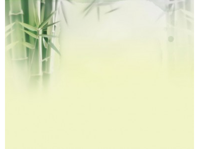 Green Bamboo Template Nature Backgrounds For PowerPoint Templates