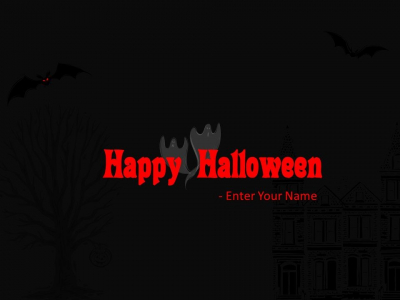 Halloween Backgrounds For Powerpoint Halloween Powerpoint Greeting