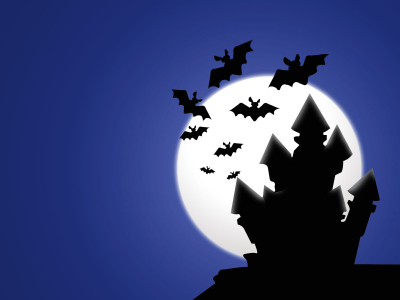 HD Halloween Wallpaper and PowerPoint Templates Free Download  PPT   #9265