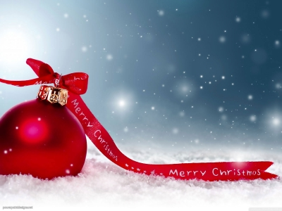 Merry Christmas Background for PowerPoint – Powerpoint Designs #9944