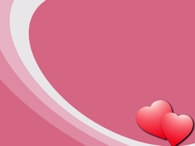 My Valentine Heart Background for Powerpoint Templates  PPT   #9216