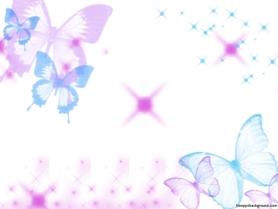 Nice Light Lored Butterfly Background For Your Animated Or Other Ppt