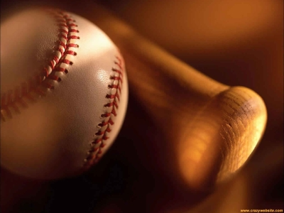 Of A Wooden Baseball Bat  Sports Themed Wallpaper For The Baseball