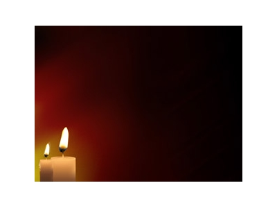 Pics Photos  Christmas Candle Powerpoint Background #9563