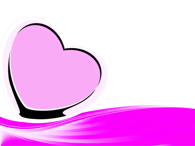 Pink Heart Backgrounds  Love, Pink  PPT Backgrounds