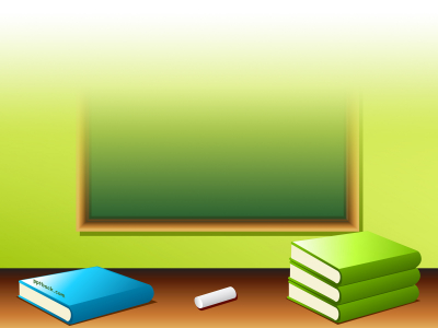 School, Book, Pencil, Eraser Free PPT Backgrounds For Your PowerPoint