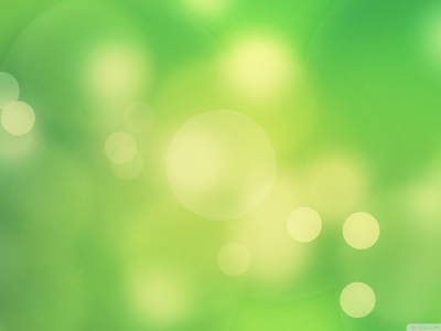 green light bubbles background #9788