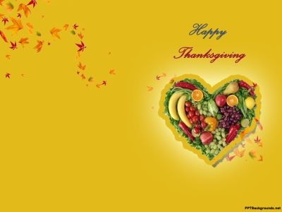 Thanksgiving Day Backgrounds For PowerPoint  Events PPT Templates
