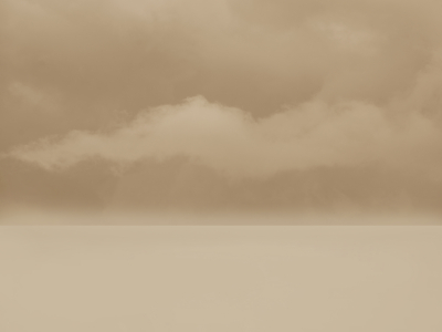 Beige Background With Clouds