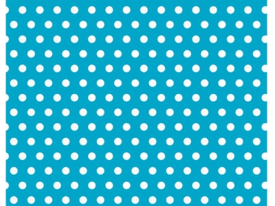 Caribbean With Polka Dots Jumbo Gift Wrap