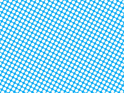 Blue Comic Book Dots Background