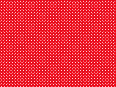 Red Comic Book Dots Background