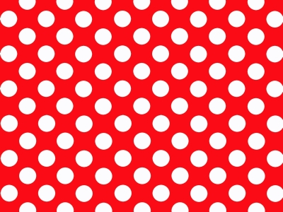 Comic Book Polka Dot Background Red And White