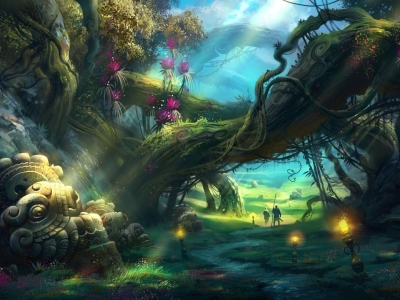 Fantasy Forest Wallpapers  Wallpaper Cave #10419