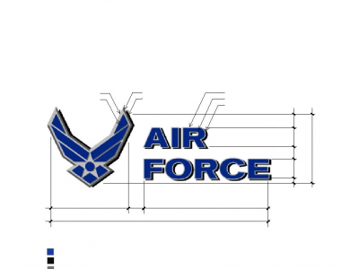 Figure 4.49. Template For Air Force Symbol On Water Tower