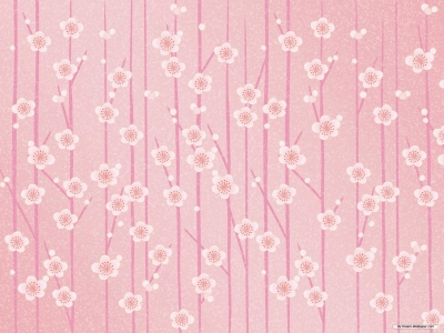 Floral Patterns Of Plant Background