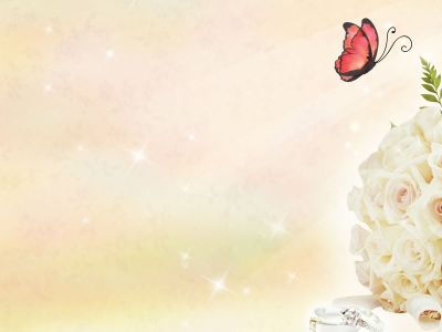 Free Butterfly And Roses Backgrounds For Powerpoint   Love