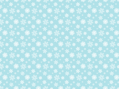 Christmas Snow Pattern Backgrounds