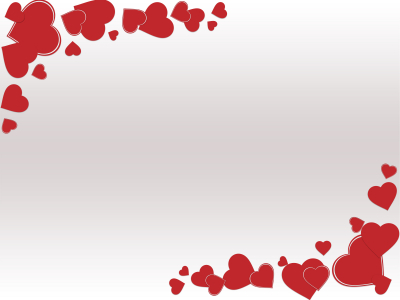 Grunge Valentine Day Backgrounds  Love, Red, White  PPT Backgrounds