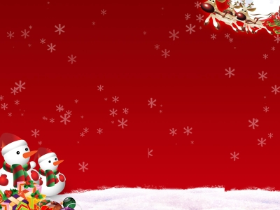 Christmas Holiday Powerpoint Background