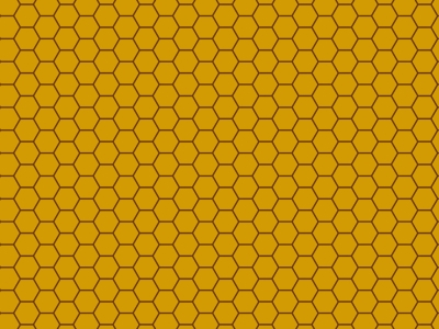 Honeycomb Pattern Vector   Viewing