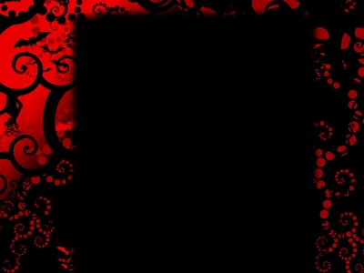 Spooky Red Black Background