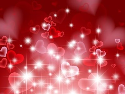 Name: Abstract Hearts Background For Valentine Day Vector Illustration