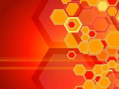 Orange Honeycomb Structure Wallpapers And Images