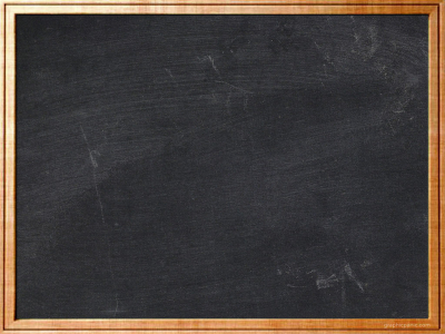 Brown Frame Chalkboard Background