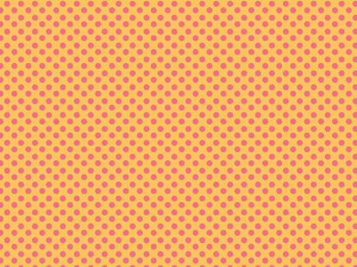 Comic Dot Background Orange, Pink
