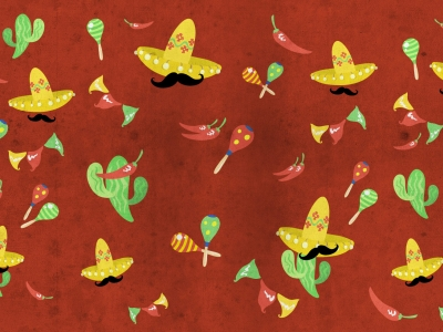 Mexican Fiesta Background Picture