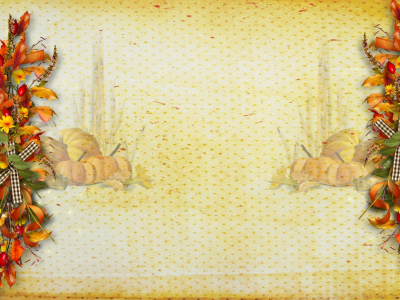 Thanksgiving Fruit Backgrounds For PowerPoint  Foods And Drinks PPT