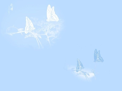 White Butterflies Free Ppt Backgrounds For Your Powerpoint