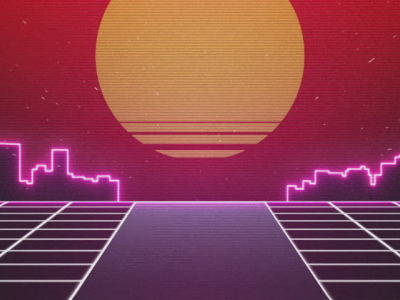 80s Stock Footage Background Clipart