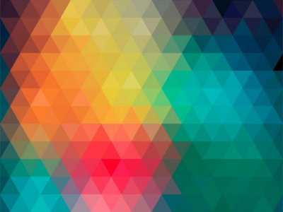Abstract Background Made By Colorful Triangles Background