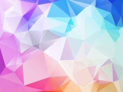 Abstract Low Poly Background Picture