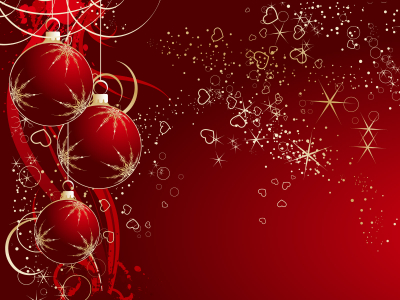 Abstract Red And White Christmas Wallpaper Hd