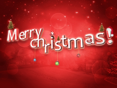 Advance Merry Christmas Background Images