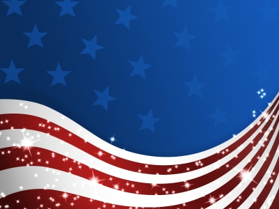American Flag Powerpoint Background flag ppt backgrounds #3509