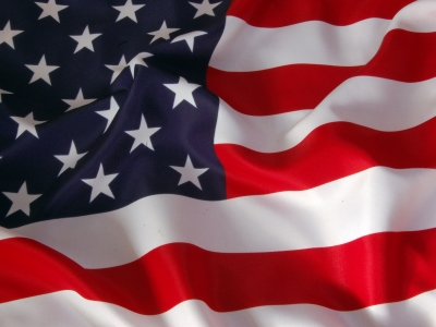 High-quality American Flag Background