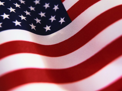 american flag free ppt background #49