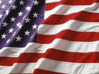Animated American Flag Background
