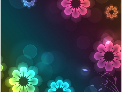 animated flower ppt background #336