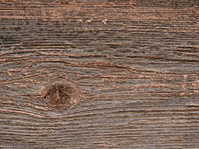 Another Rough Old Wood Background With A Knot