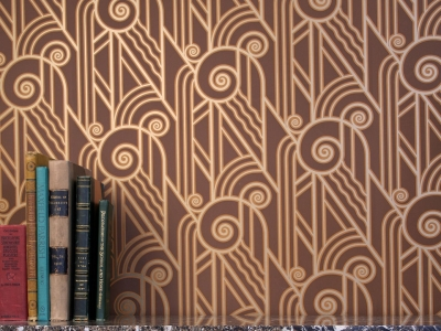 Art Deco Art Nouveau Wallpaper